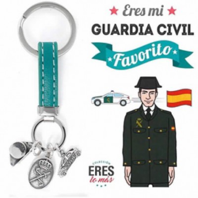 Llavero Eres mi Guardia Civil favorito - 9109434